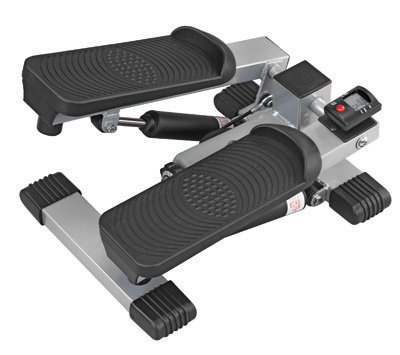 Mini Stepper Exercisier - Ideal for toning the waist, calves, hips and thighs while burning calories. * Compact design is great for the home, office or travel * Features a unique adjustable resistance system for low impact exercise * Dual-hydraulic cylind