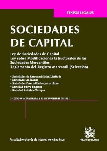 Ley de Sociedades de Capital (Spanish Edition)