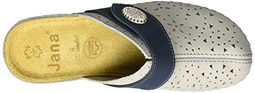 Jana Women's 27303 Wedge Heels Sandals Grey (Grey 200) pMP2hd