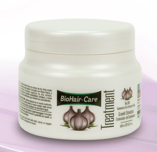 BIOHAIR- CARE GARLIC GROWTH STIMULATOR TREATMENT 16.9 OZ.