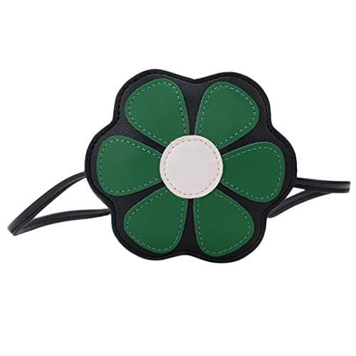 Bandoulière Bag Belle Sacs Clutch À 2019 Filles Messenger Vert Femme Enfants Coin Fleur Main Mode Sac nWSv7On