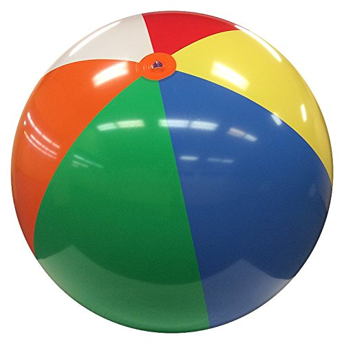 10-FT Deflated Size Multicolor Beach Ball by Beachballs