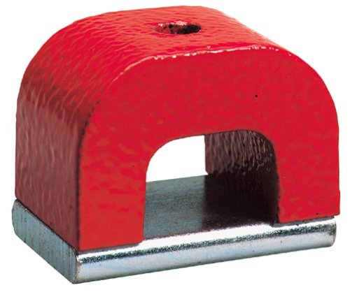 General Tools 370 4 Horseshoe Power Alnico Magnets  22 Pound Pull By General Tools