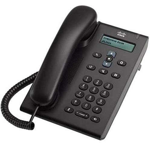 Cisco CP-3905 Unified SIP Phone 390544; Standard Handset44; Charcoal ()