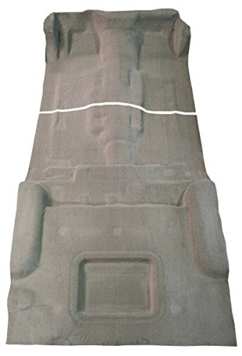 2002 to 2009 Chevrolet Trailblazer Carpet Custom Molded Replacement Kit, Complete Kit (Will not fit EXT Model) (8335-Antelope Plush Cut Pile) Blazer Molded Replacement Carpet