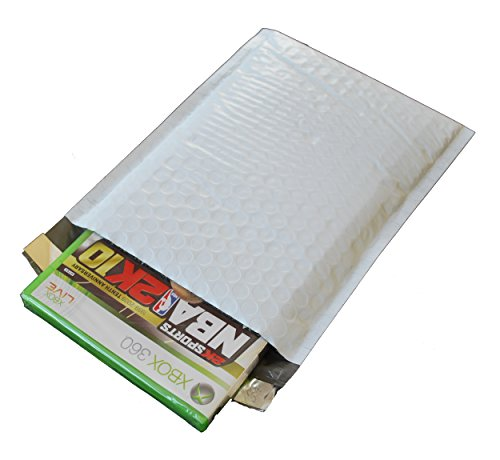 250 - #00 - 5x10 POLY BUBBLE MAILERS PADDED ENVELOPES