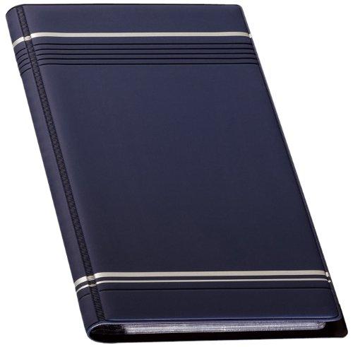 Durable Visifix 96 - Archivador para tarjetas de visita 250 x 118 mm, color azul