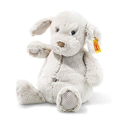 Steiff 240591 Soft Cuddly Friends Baster Dog Grey