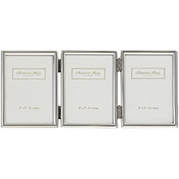 Addison Ross, Essentials Photo Frame, Silver Plate Treble, 2 x 3 Inches