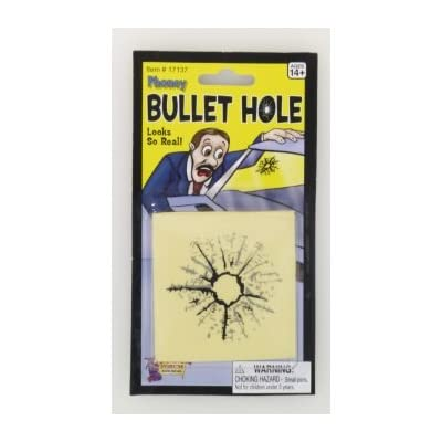Forum Novelties Phoney Bullet Hole (Pack of 3): Toys & Games