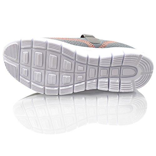 Air Tech femmes formateurs Slip sur pompes Mocassins Chaussures Casual taille Gris oXysZEQpAk