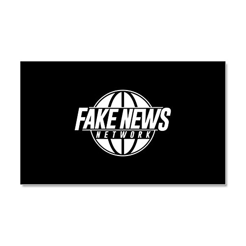 CafePress - Fake News Network - Car Magnet, 20