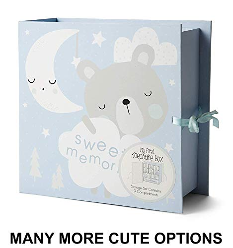 Baby Milestone Keepsake Storage Box: Track Treasured Memories - Sweet Memories ()