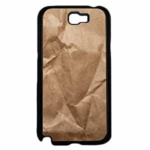 Brown Paper Bag could - Phone Case Back Cover upon (Galaxy Note 2 - your TPU Rubber Silicone) into