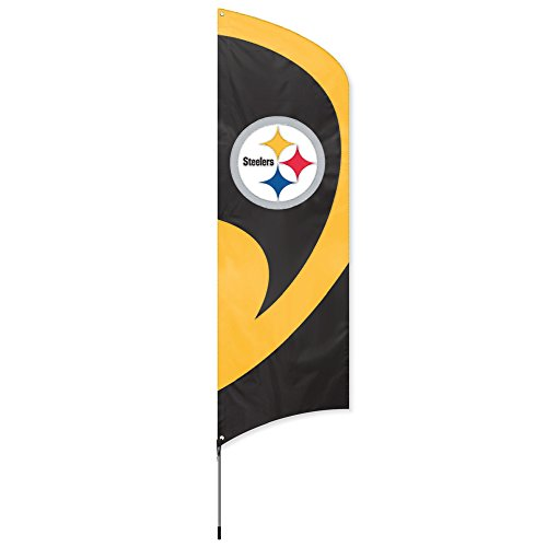 Party Animal  Pittsburgh Steelers NFL Flag Tailgating Kit