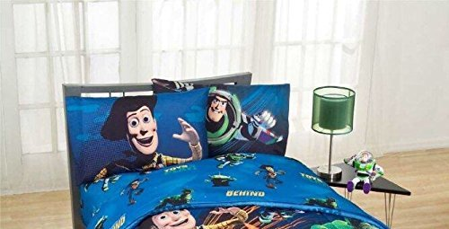 Disney's Toy Story - Don't Toy With Us Bedding Set Kids Comfortable Twin Sheet Set 66