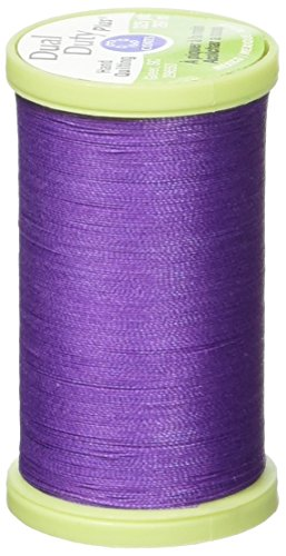 Coats Thread & Zippers Dual Duty Plus Hand Quilting Thread, 325-Yard, Deep Violet Coats Quilting Thread