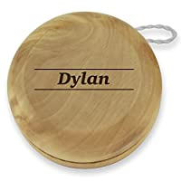 Dimension 9 Dylan Classic Wood Yoyo with Laser Engraving