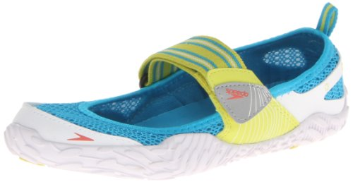 Speedo Women's Offshore Strap Amphibious Water Shoe,Sulphur Spring/White,11 M US