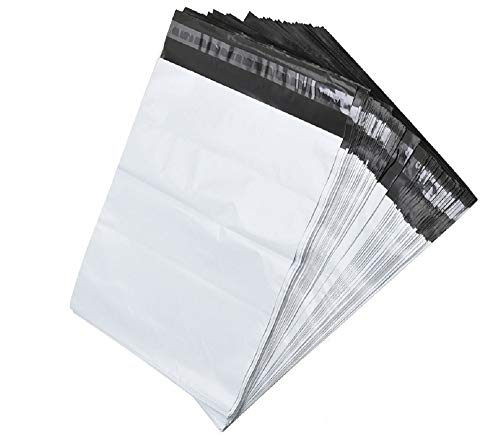 100 White Poly Mailer Shipping B...