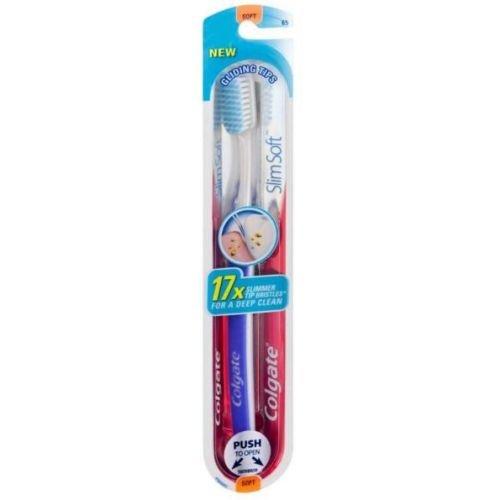 Colgate Slim Soft Bristle Gliding Tip Toothbrush - 72 per case.