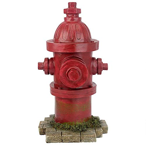 Design Toscano QL5468 Puppy Pee Post-Dog's Second Best Friend Fire Hydrant Statue, Single (For Indoor Sale Large Statues)