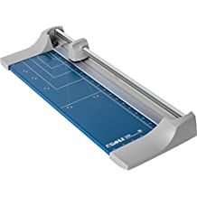 "Dahle 508 Personal Rolling Trimmer, 18"" Cut Length, 7 Sheet, Self-Sharpening Blade, Cuts in Either Direction, Automatic Paper Clamp"
