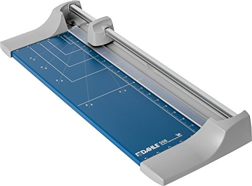 Dahle 508 Personal Rolling Trimmer, 18' Cut Length, 7 Sheet Capacity, Self-Sharpening, Automatic Clamp, German Engineered Paper Cutter