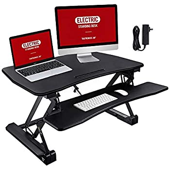 Amazoncom Standing Desk Taotronics 36 Adjustable Sit To Stand