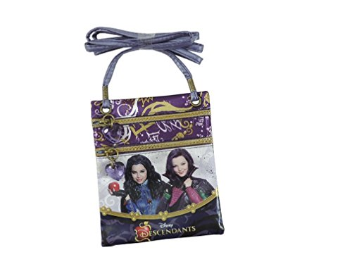 Karactermania 47060 Descendants Borsa Messenger, 17 cm, Viola