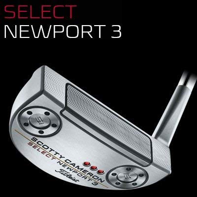 TITLEIST()  Scotty Cameron Select 2018 Newport 3 LH 34   733LE34  :3.5