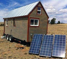 Tiny House 1200w Off Grid Solar Power System - Medium Base Kit
