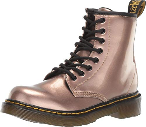 Dr. Martens Kid's Collection Womens 1460 Patent Glitter Toddler Brooklee Boot