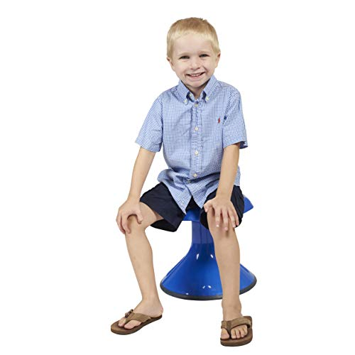 ECR4Kids ACE Active Core Engagement Wobble Stool for Kids, Flexible Classroom and Home Seating, 15