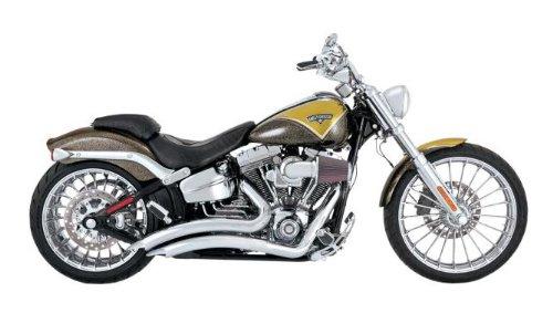 Big Radius Baffles (Vance and Hines Big Radius 2-Into-2 Full System Exhaust for Harley Davidson 201 - One Size)