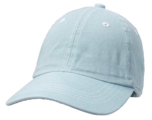 City Thread Unisex Baby Solid Baseball Hat Sun Protection SPF Beach Summer - Baby Blue - S