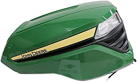 Amazon Com John Deere Complete Hood X300 X304 X310 X320 Above 280001 X350 X370 X384 X394 Garden Outdoor