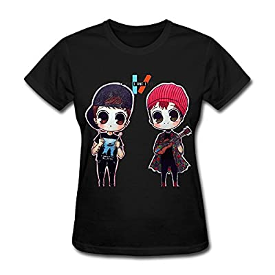 Women's TWENTY ONE PILOTS T-shirt Fashion Design Tee