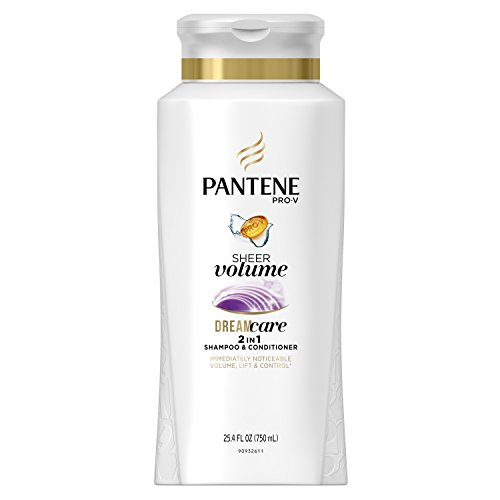2-In-1 Shampoo & Conditioner 25.4 Fl Oz (Pantene Sheer Shampoo)