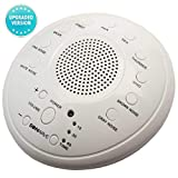 Sontech White 10 Natural Sound Settings Soothing Battery Adapter Charging Option