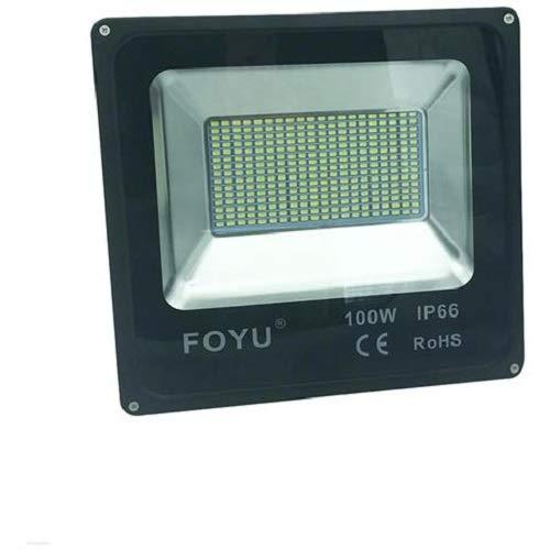 FARO LED 100W DA ESTERNO SMD IP66 FOYU LUCE PORTATILE FARO LED CW406