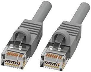by Adam Tech Grey CAT 6 Ethernet 3 ft Bubble Boot Patch Cord