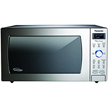 Panasonic NN-SD775S Countertop/Built-In Cyclonic Wave Microwave with Inverter Technology, 1.6  cu. ft. , Stainless