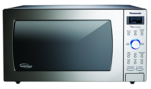 Panasonic Countertop / Built-In Microwave Oven with Cyclonic Wave Inverter Technology and 1250W of Cooking Power - NN-SD775S - 1.6 cu. ft (Stainless Steel / Silver) ()