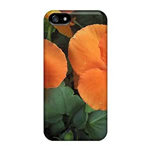 New Arrival For HTC One M7 Phone Case Cover Orange Pansys Cases Covers