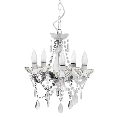 Three Cheers 3C4G Mini Chandelier, Clear