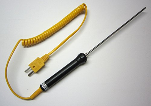 (Stainless Steel K-Type Thermocouple Insertion Probe)