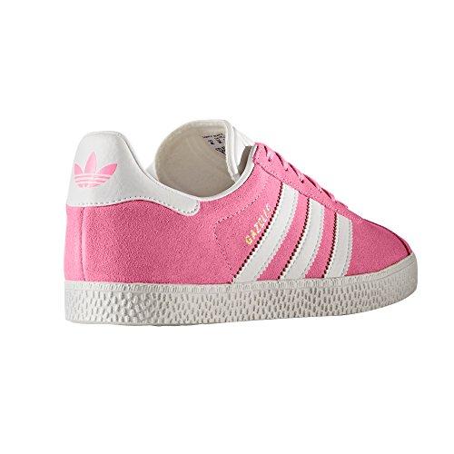 adidas Gazelle J Rosa und Blau Damenschuhe. Sneaker Rossen/Ftwbla
