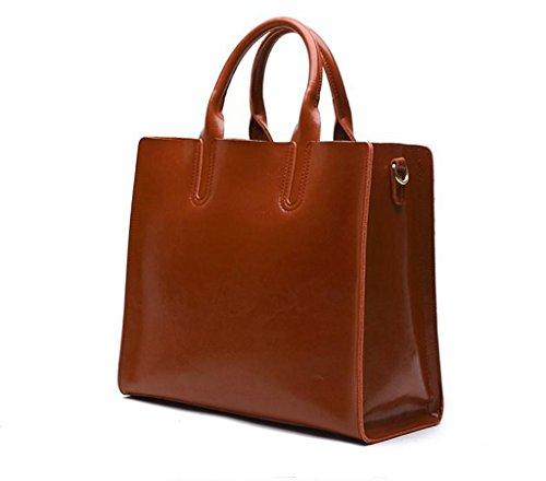Sucastle Donna Tipo A Bag Spalla Tracolla università Messenger 2 2 D'affari Pelle Vintage Borsa In viaggio rrwdqfF
