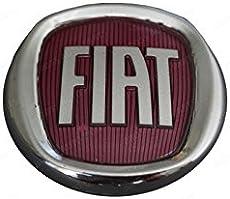 811f07ec23 Bross BSP821 Rear Boot Badge Decal Crest Red Logo 75mm For FIAT GRANDE  PUNTO